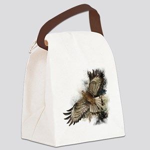 Falcon Flight Canvas Lunch Bag