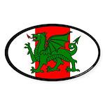 Midrealm Ensign Oval Sticker