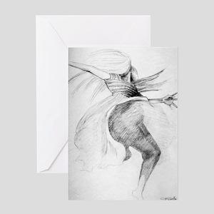 Goddess Designs Greeting Card