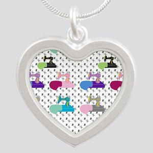 Colorful Sewing Machines Necklaces