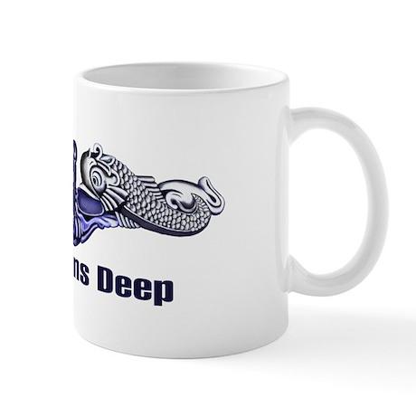 Pride Runs Deep-Gold/Silver Mug