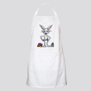 Easter Bunny painting eggs Light Apron