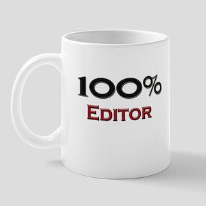 100 Percent Editor Mug