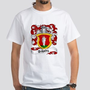 Schultz Family Crest White T-Shirt
