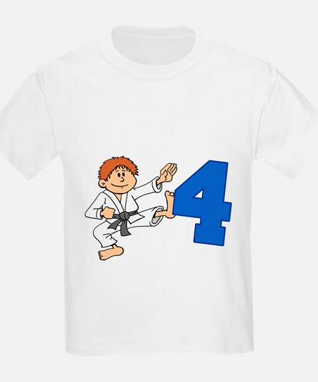 Kick Out Of Turning 4 T-Shirt