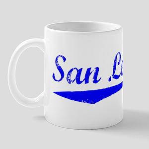 Vintage San Leandro (Blue) Mug
