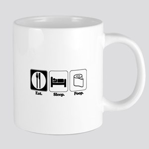 Eat. Sleep. Poop. Mugs