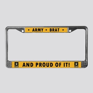 U.S. Army Brat and Proud License Plate Frame
