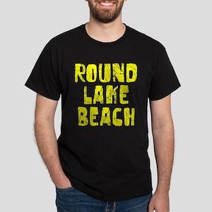 Round Lake B.. Faded (Gold) Dark T-Shirt