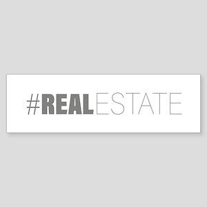 #realestate Bumper Sticker