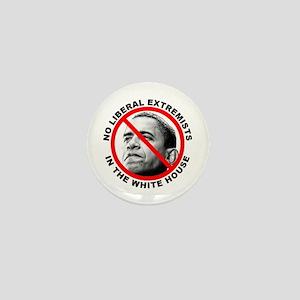 Anti-Obama Anti-Liberal Mini Button