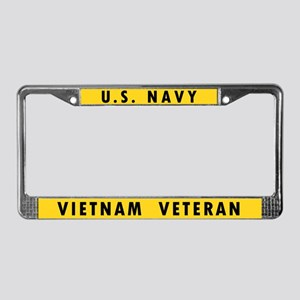 U.S. Navy Vietnam Veteran License Plate Frame