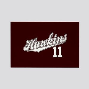 Hawkins 11 Rectangle Magnet