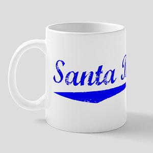 Vintage Santa Barb.. (Blue) Mug
