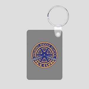Hawkins Middle AV Club Aluminum Photo Keychain