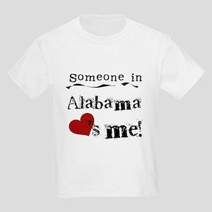 Someone in Alabama Kids Light T-Shirt