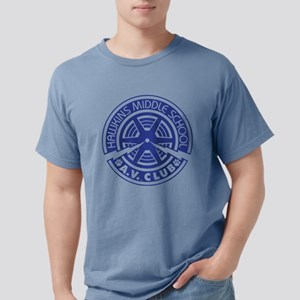 Hawkins Middle AV Club Mens Comfort Colors Shirt