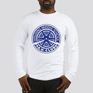 Hawkins Middle AV Club Long Sleeve T-Shirt