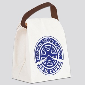Hawkins Middle AV Club Canvas Lunch Bag