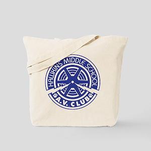 Hawkins Middle AV Club Tote Bag