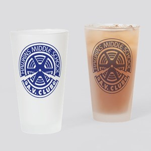 Hawkins Middle AV Club Drinking Glass