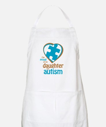 Proud of Daughter (4BB) BBQ Apron