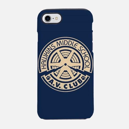 Hawkins Middle AV Club iPhone 8/7 Tough Case