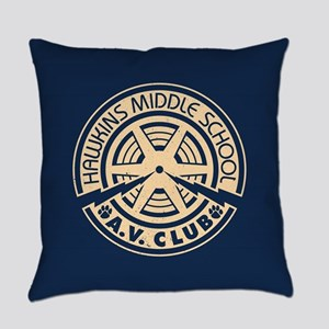 Hawkins Middle AV Club Everyday Pillow