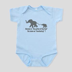 Cartoon Elephants funny Infant Bodysuit
