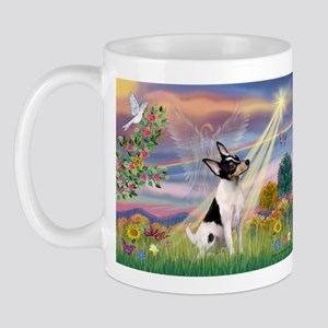 Cloud Angel & Toy Fox Terrier Mug