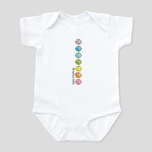 Baby Chakras Rainbow Infant Bodysuit