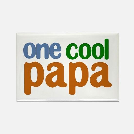 one cool papa grandpa t-shirts Rectangle Magnet