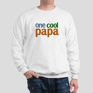 one cool papa grandpa t-shirts Sweatshirt