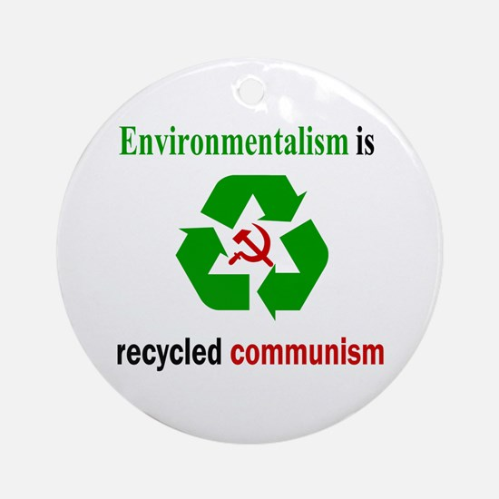 Anti Green Ornament (Round)