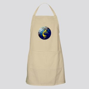 Kokopelli on the Earth #2 BBQ Apron