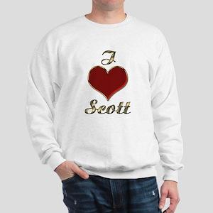 Scott's Loved & In Love Sweatshirt