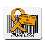Leukemia Cure Priceless Mousepad