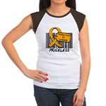Leukemia Cure Priceless Women's Cap Sleeve T-Shirt