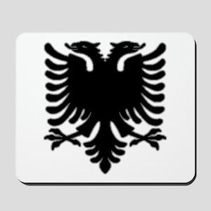 Black Albanian Double Headed Mousepad
