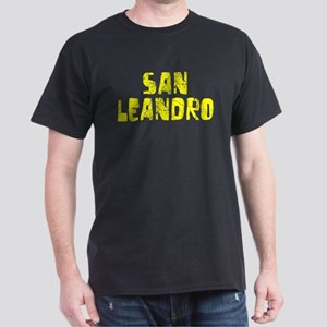 San Leandro Faded (Gold) Dark T-Shirt