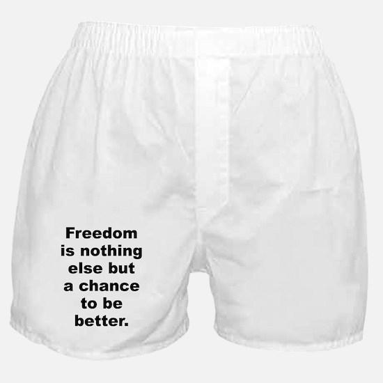 Cool Camus quotation Boxer Shorts