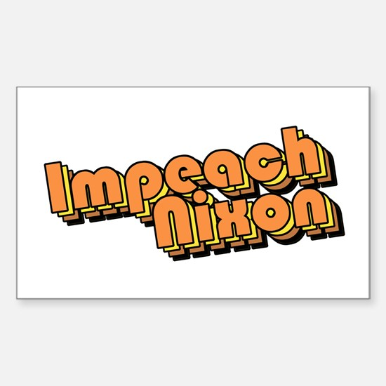 Impeach Nixon! Rectangle Decal