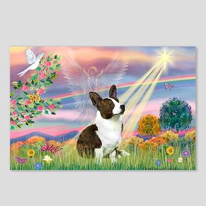 Cloud Angel / Corgi (c) Postcards (Package of 8)