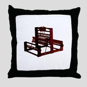 Yarn Crafts - Weaving Loom Throw Pillow