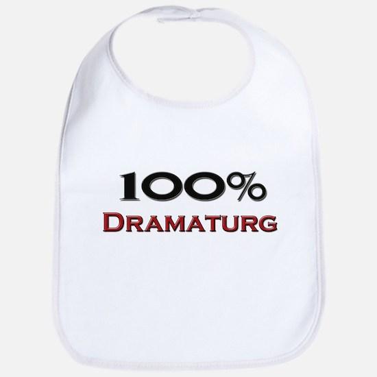 100 Percent Dramaturg Bib