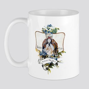 Shih Tzu Forget Me Not Mug
