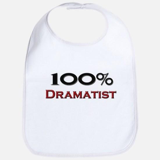 100 Percent Dramatist Bib