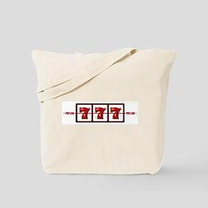 Lucky 777 Tote Bag