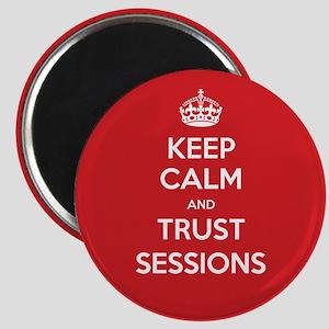 Trust Sessions Magnet