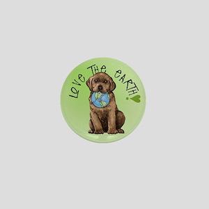 Earth Day Labrador Mini Button
